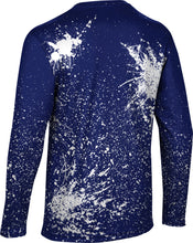 Load image into Gallery viewer, Brigham Young University: Men's Long Sleeve Tee - Splatter