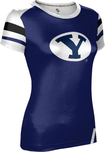 Brigham Young University: Women's T-shirt - Old School