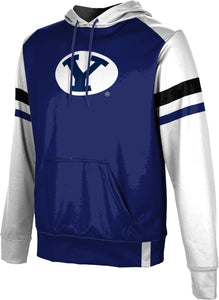 Brigham Young University: Boys' Pullover Hoodie - Old School