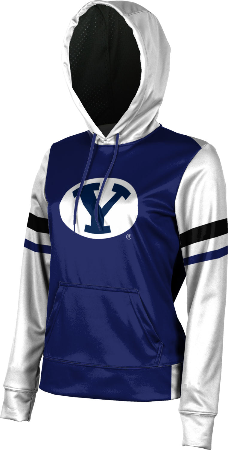 Brigham Young: Girls' Pullover Hoodie - Old School