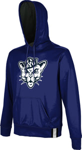 Brigham Young University: Men's Pullover Hoodie - Solid