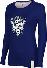 Load image into Gallery viewer, Brigham Young University: Women's Long Sleeve Tee - Solid