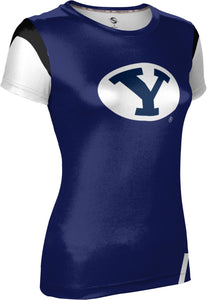 Brigham Young University: Women's T-shirt - Tailgate