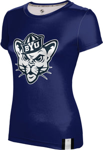 Brigham Young University: Women's T-shirt - Solid