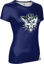 Load image into Gallery viewer, Brigham Young University: Women's T-shirt - Solid