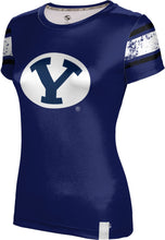 Load image into Gallery viewer, Brigham Young University: Girls T-shirt - End Zone