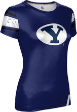 Load image into Gallery viewer, Brigham Young University: Women's T-shirt - Endzone