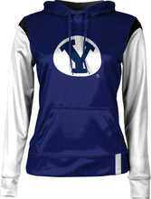Load image into Gallery viewer, Brigham Young University: Women's Pullover Hoodie - Tailgate