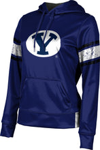 Load image into Gallery viewer, Brigham Young: Girls' Pullover Hoodie - Endzone