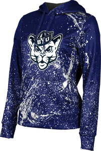 Brigham Young University: Women's Pullover Hoodie - Splatter