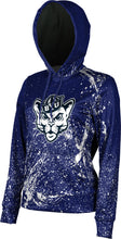 Load image into Gallery viewer, Brigham Young University: Women's Pullover Hoodie - Splatter