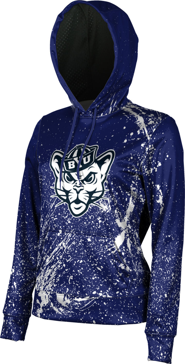 Brigham Young University: Girls' Pullover Hoodie - Splatter