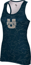 Load image into Gallery viewer, Utah State University: Women's Performance Tank - Topography