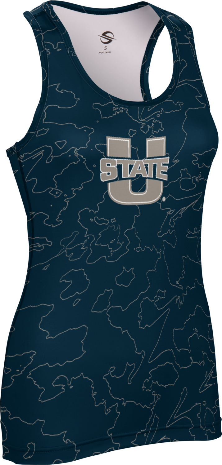 Utah State University: Women's Performance Tank - Topography