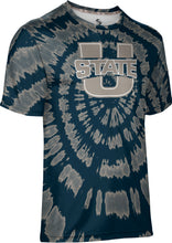 Load image into Gallery viewer, Utah State University: Men's T-shirt - Tie Dye
