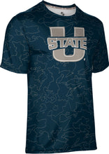 Load image into Gallery viewer, Utah State University: Men's T-shirt - Topography