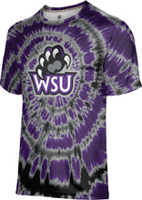 Load image into Gallery viewer, Weber State University: Boys' T-shirt - Tie Dye