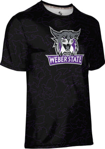 Weber State University: Boys' T-shirt - Topography