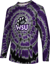 Load image into Gallery viewer, Weber State University: Men's Long Sleeve Tee - Tie Dye