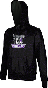 Weber State University: Boys' Pullover Hoodie - Topography
