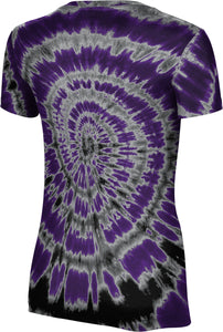 Weber State University: Women's T-shirt - Tie Dye