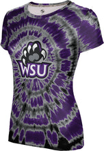 Load image into Gallery viewer, Weber State University: Women's T-shirt - Tie Dye