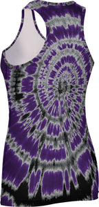 Weber State University: Women's Performance Tank - Tie Dye