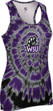 Load image into Gallery viewer, Weber State University: Women's Performance Tank - Tie Dye