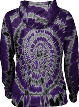 Load image into Gallery viewer, Weber State University: Girls' Pullover Hoodie - Tie Dye