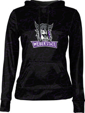 Load image into Gallery viewer, Weber State University: Women's Pullover Hoodie - Topography