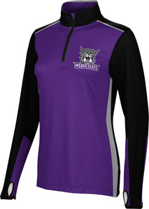 Weber State University: Women's Quarter Zip Long Sleeve - Counter