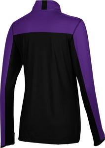 Weber State University: Women's Quarter Zip Long Sleeve - Sharp