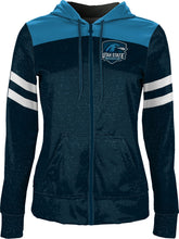 Load image into Gallery viewer, Utah State University Eastern: Girls' Full Zip Hoodie - Game Day