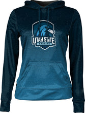 Load image into Gallery viewer, Utah State University Eastern: Girls' Pullover Hoodie - Ombre