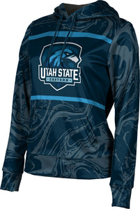 Utah State University Eastern: Girls' Pullover Hoodie - Ripple