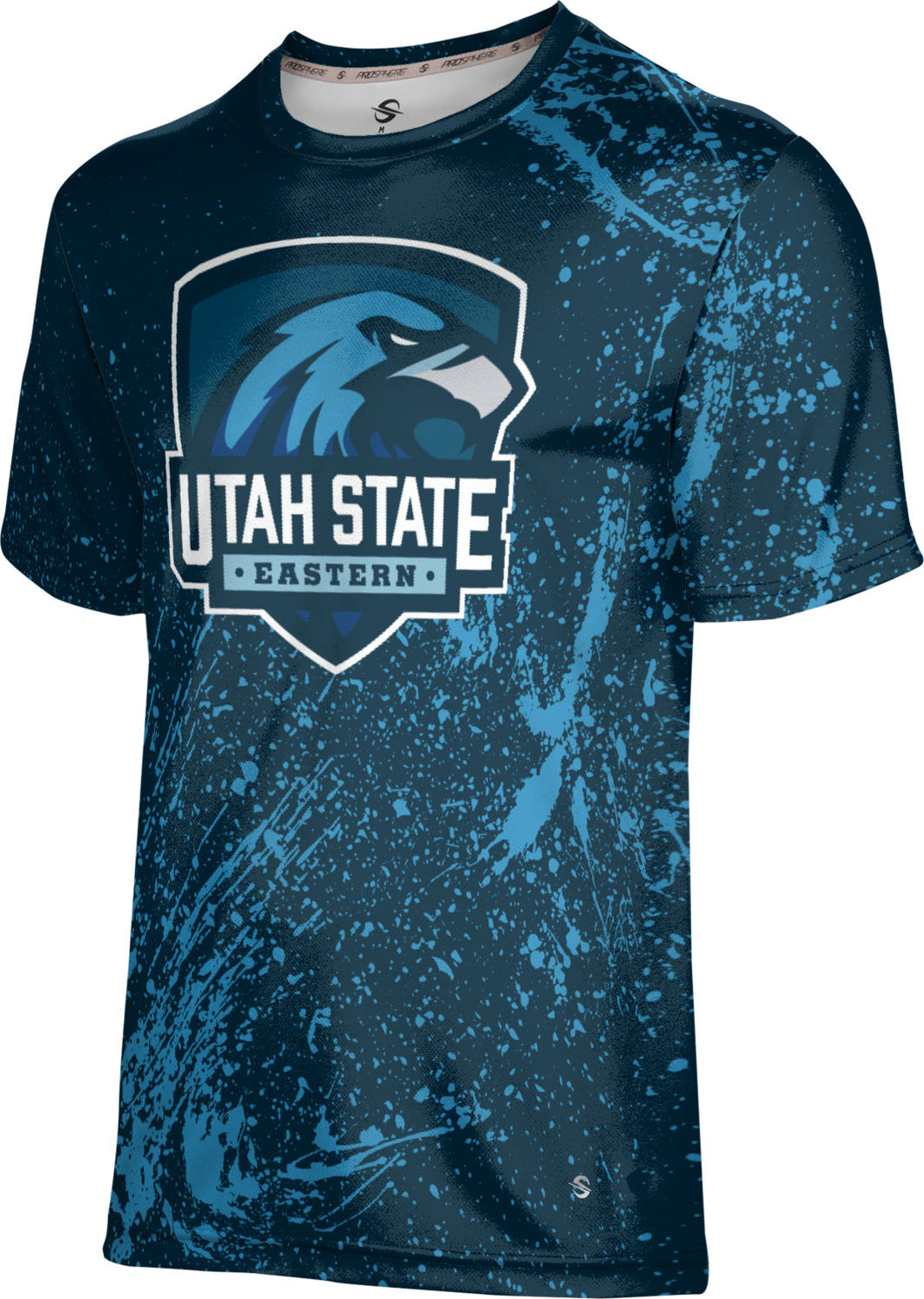Utah State University Eastern: Men's T-shirt - Topography