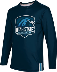Utah State University Eastern: Men's Long Sleeve Tee - Solid