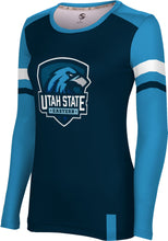 Load image into Gallery viewer, Utah State University Eastern: Women's Long Sleeve Tee - Old School