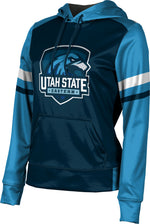 Utah State University Eastern: Girls' Pullover Hoodie - Old School