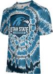 Utah State University Eastern: Men's T-shirt - Tie Dye