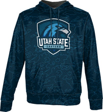 Load image into Gallery viewer, Utah State University Eastern: Men's Pullover Hoodie - Topography