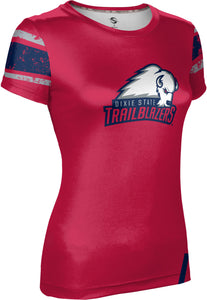 Dixie State University: Women's T-shirt - End Zone