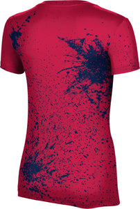 Dixie State University: Women's T-shirt - Splatter