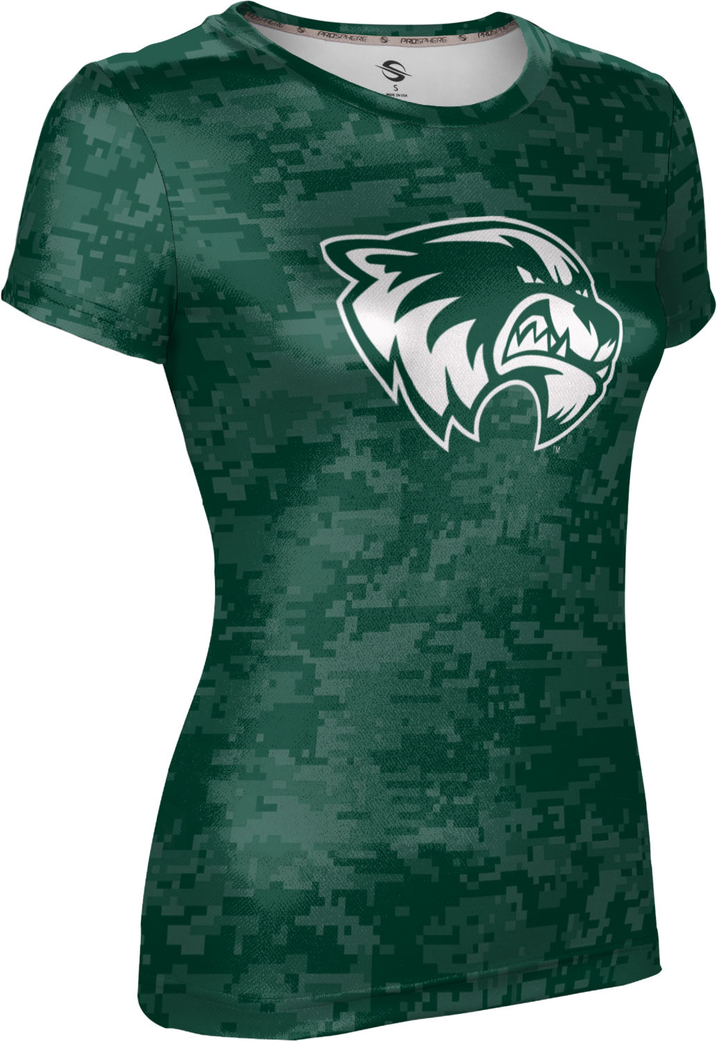 Utah Valley University: Girls' T-shirt - Digi Camo