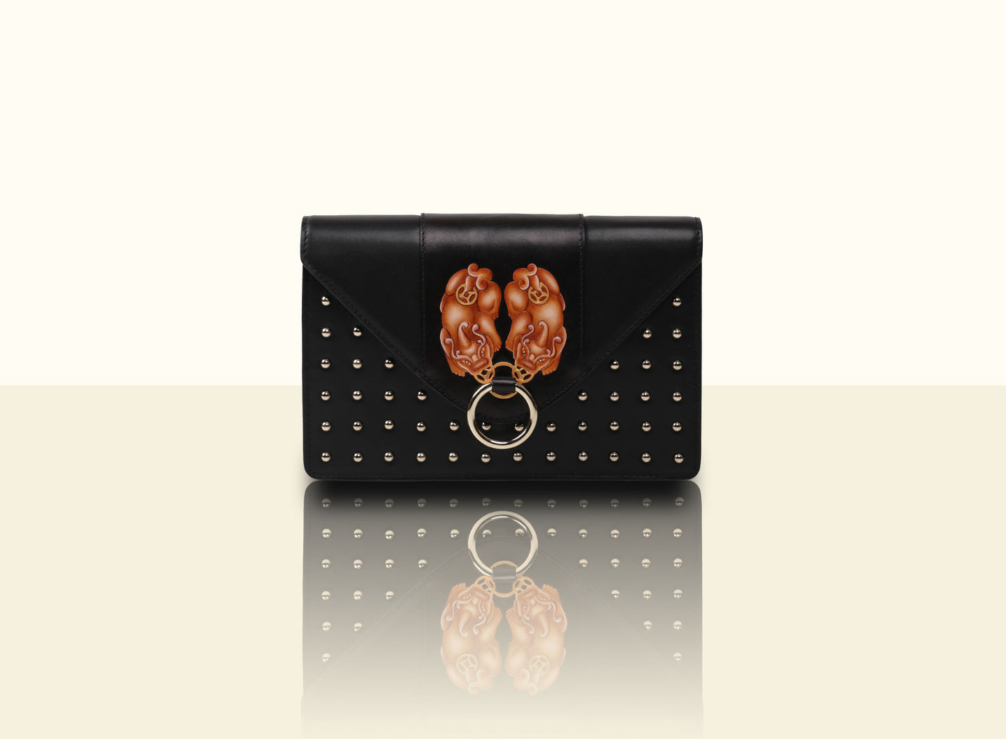 Gate of Guardian Clutch (Small) - Black