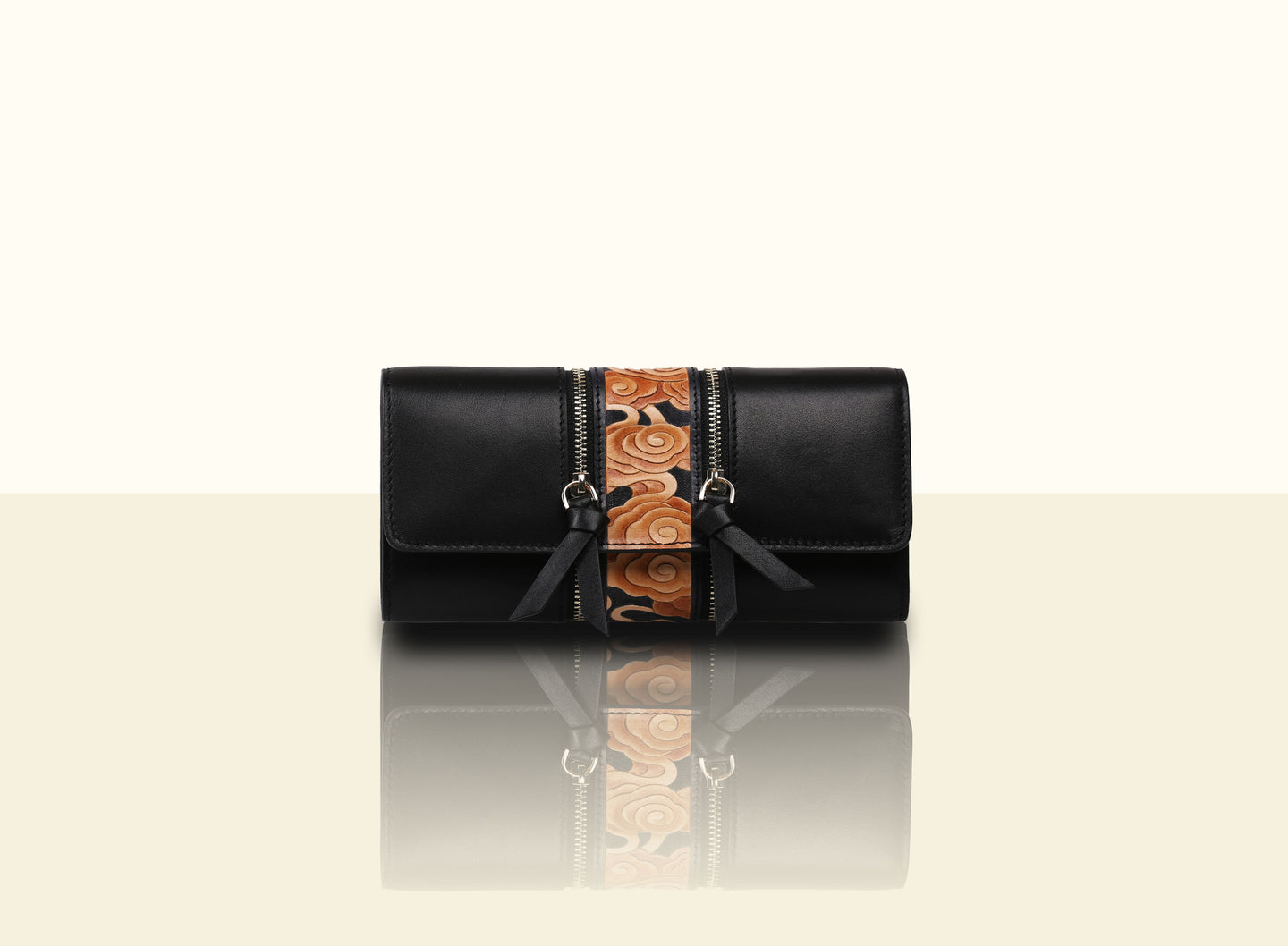 Preorder - Glorious Clouds Wallet - Black and Brown