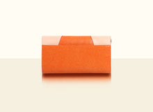 Preorder - Shimmering Yu Clutch - Orange and Original