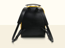 Gate of Guardian Backpack - Black and Yellow