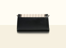 Preorder - Bamboo Calligraphy Clutch- Black and Creamy White