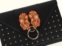 Preorder - Gate of Guardian Clutch (Small) - Black